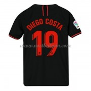 Atletico Madrid Voetbaltenue Kind 2019-20 Diego Costa 19 Uitshirt..