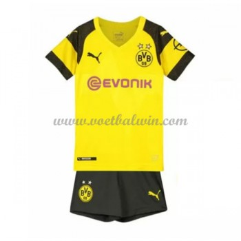 BVB Borussia Dortmund Voetbaltenue Kind 2018-19 Thuisshirt
