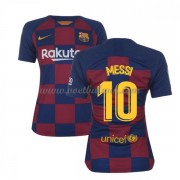 Barcelona Dames Voetbalshirts 2019-20 Lionel Messi 10 Thuisshirt..