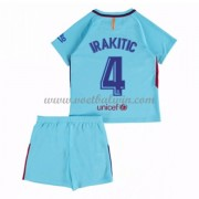 Barcelona Voetbaltenue Kind 2017-18 I. Rakitic 4 Uitshirt..