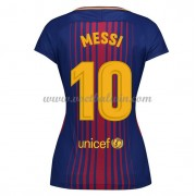 Barcelona Dames Voetbalshirts 2017-18 Lionel Messi 10 Thuisshirt..