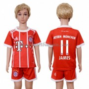 Bayern Munich Voetbaltenue Kind 2017-18 James Rodriguez 11 Thuisshirt..