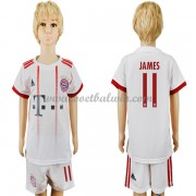 Bayern Munich Voetbaltenue Kind 2017-18 James Rodriguez 11 Third Shirt..