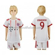 Bayern Munich Voetbaltenue Kind 2017-18 Robert Lewandowski 9 Third Shirt..