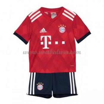 Bayern München Voetbaltenue Kind 2018-19 Thuisshirt
