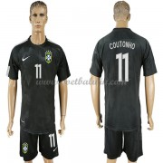 Goedkope Voetbalshirts Brazilië Elftal 2018 Philippe Coutinho 11 Third Tenue..