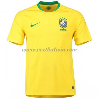 Goedkope Voetbaltenues Brazilië Elftal WK 2018 Thuisshirt