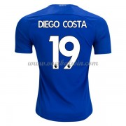 Premier League Voetbalshirts Chelsea 2017-18 Diego Costa 19 Thuisshirt..