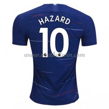 Premier League Voetbalshirts Chelsea 2018-19 Eden Hazard 10 Thuisshirt