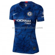 Chelsea Dames Voetbalshirts 2019-20 Thuisshirt..