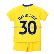 Chelsea Voetbaltenue Kind 2018-19 David Luiz 30 Uitshirt..
