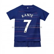 Chelsea Voetbaltenue Kind 2018-19 NGolo Kante 7 Thuisshirt..