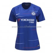Chelsea Dames Voetbalshirts 2018-19 Thuisshirt..