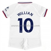 Chelsea Voetbaltenue Kind 2019-20 Willian Borges da Silva 10 Uitshirt..