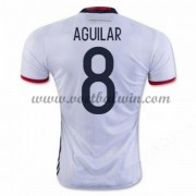 Goedkope Voetbalshirts Colombia Elftal 2016 Abel Aguilar 8 Thuis Tenue..