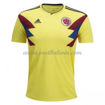 Goedkope Voetbaltenues Colombia Elftal WK 2018 Thuisshirt