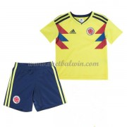 Colombia Elftal Voetbaltenue Kind WK 2018 Thuisshirt