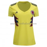Colombia Elftal Dames Voetbalshirts WK 2018 Thuisshirt..