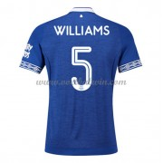 Premier League Voetbalshirts Everton 2018-19 Ashley Williams 5 Thuisshirt..