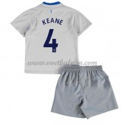 Everton Voetbaltenue Kind 2017-18 Michael Keane 4 Uitshirt..
