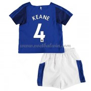Everton Voetbaltenue Kind 2017-18 Michael Keane 4 Thuisshirt..