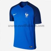 Goedkope Voetbalshirts Frankrijk Elftal 2016 Thuis Tenue..
