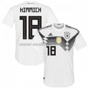 Goedkope Voetbalshirts Duitsland Elftal 2018 Joshua Kimmich 18 Thuis Tenue..