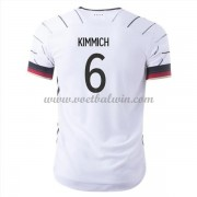 Goedkope Voetbalshirts Duitsland Elftal 2020 Joshua Kimmich 6 Thuis Tenue..