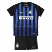 Inter Milan Voetbaltenue Kind 2018-19 Thuisshirt..