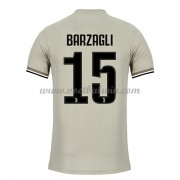 Serie A Voetbalshirts Juventus 2018-19 Andrea Barzagli 15 Uitshirt..