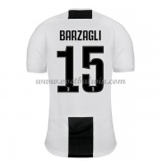 Serie A Voetbalshirts Juventus 2018-19 Andrea Barzagli 15 Thuisshirt..