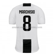 Serie A Voetbalshirts Juventus 2018-19 Claudio Marchisio 8 Thuisshirt..