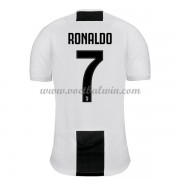 Serie A Voetbalshirts Juventus 2018-19 Cristiano Ronaldo 7 Thuisshirt..