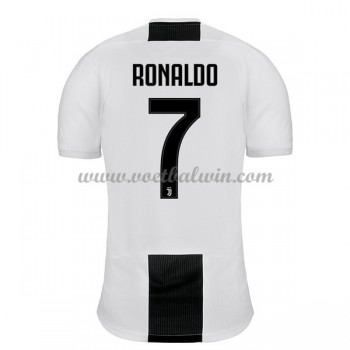 Serie A Voetbalshirts Juventus 2018-19 Cristiano Ronaldo 7 Thuisshirt