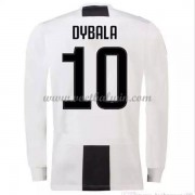 Serie A Voetbalshirts Juventus 2018-19 Paulo Dybala 10 Thuisshirt Lange Mouw..