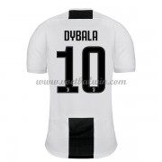 Serie A Voetbalshirts Juventus 2018-19 Paulo Dybala 10 Thuisshirt..