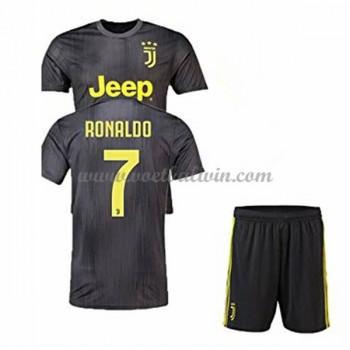 Juventus Voetbaltenue Kind 2018-19 Cristiano Ronaldo 7 Third Shirt