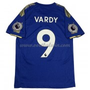 Premier League Voetbalshirts Leicester City 2017-18 Vardy 9 Thuisshirt..