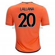 Premier League Voetbalshirts Liverpool 2017-18 Adam Lallana 20 Third Shirt..