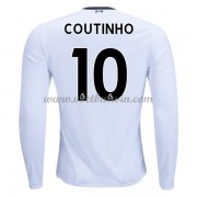 Premier League Voetbalshirts Liverpool 2017-18 Philippe Coutinho 10 Uitshirt Lange Mouw..
