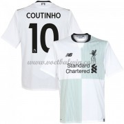 Premier League Voetbalshirts Liverpool 2017-18 Philippe Coutinho 10 Uitshirt..