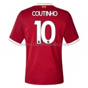 Premier League Voetbalshirts Liverpool 2017-18 Philippe Coutinho 10 Thuisshirt..