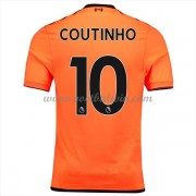 Premier League Voetbalshirts Liverpool 2017-18 Philippe Coutinho 10 Third Shirt..