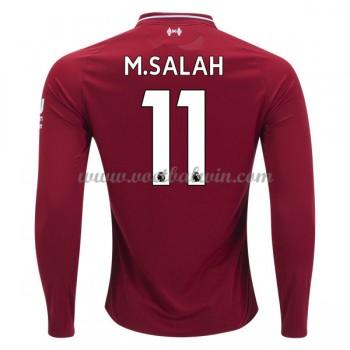 Premier League Voetbalshirts Liverpool 2018-19 Mohamed Salah 11 Thuisshirt Lange Mouw