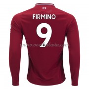 Premier League Voetbalshirts Liverpool 2018-19 Roberto Firmino 9 Thuisshirt Lange Mouw..