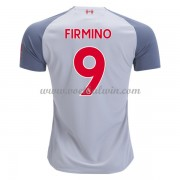 Premier League Voetbalshirts Liverpool 2018-19 Roberto Firmino 9 Third Shirt..