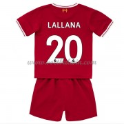 Liverpool Voetbaltenue Kind 2017-18 Adam Lallana 20 Thuisshirt..