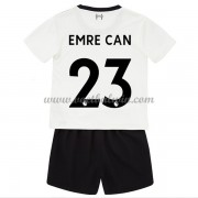 Liverpool Voetbaltenue Kind 2017-18 Emre Can 23 Uitshirt..