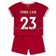 Liverpool Voetbaltenue Kind 2017-18 Emre Can 23 Thuisshirt..