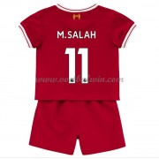 Liverpool Voetbaltenue Kind 2017-18 Mohamed Salah 11 Thuisshirt..